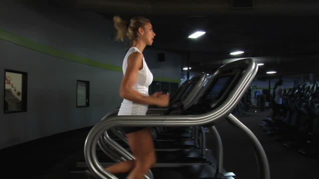 treadmill dolly - treadmill stock videos & royalty-free footage