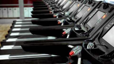 treadmills - treadmill stock videos & royalty-free footage