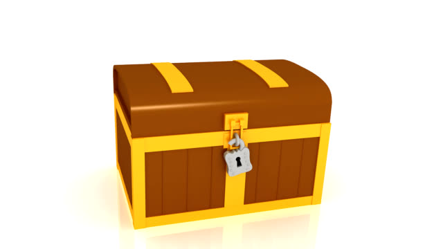 treasure chest - chest stock videos & royalty-free footage