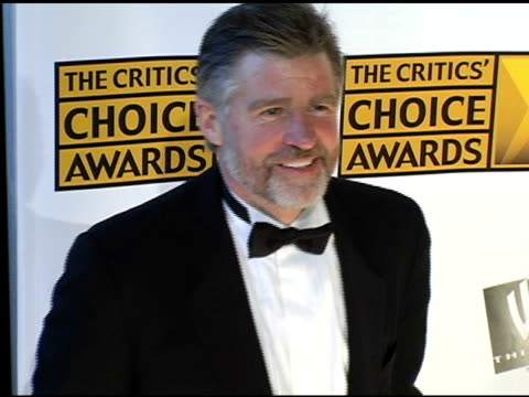 treat williams at the 2005 critics' choice awards at the wiltern theater in los angeles california on january 10 2005 - wiltern theater stock videos and b-roll footage