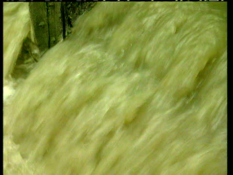 treated sewage water at sewage plant - sewage treatment plant stock videos & royalty-free footage
