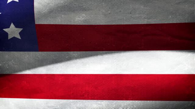 Treated US Flag