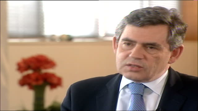 EU Treaty agreed / Blair meets Pope ENGLAND INT Gordon Brown MP comments on summit SOT the issues we were worried about have been dealt with and as...