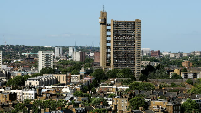 trellick tower - tower stock videos & royalty-free footage