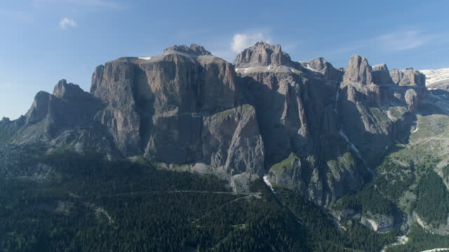 trentino alto adige (trentino-south tyrol) region and dolomites / the italian alps, italy - rock face stock videos & royalty-free footage