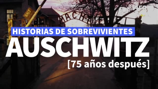 tres cuartos de siglo despues de la liberacion de auschwitz el mas conocido de los campos nazis de exterminio los ultimos supervivientes viven pese a... - avambraccio video stock e b–roll