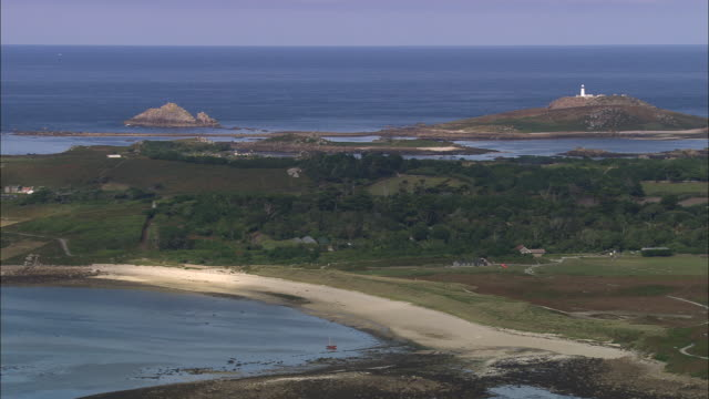 tresco - isles of scilly - isles of scilly stock videos & royalty-free footage