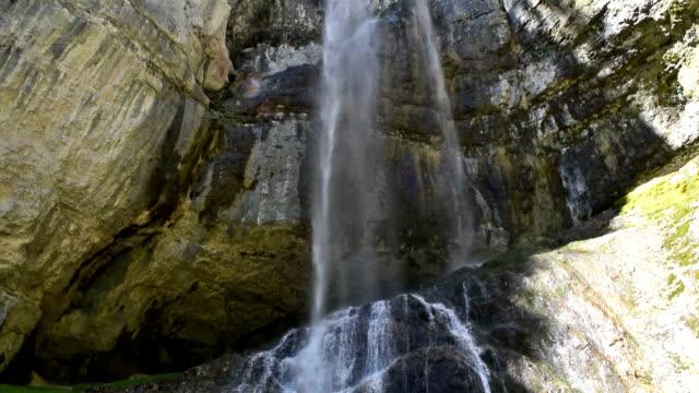 Tret Waterfall in Trentino-Alto Adige, Italy