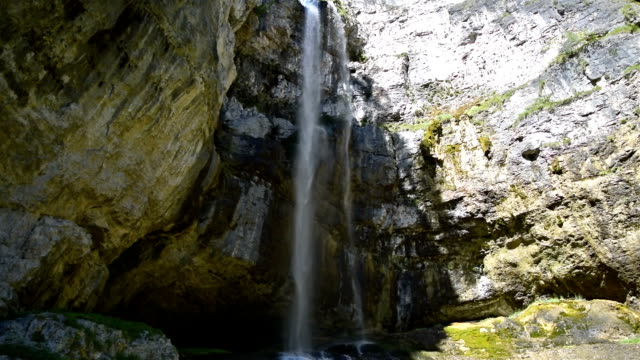 tret waterfall in trentino-alto adige, italy - cascata stock videos and b-roll footage