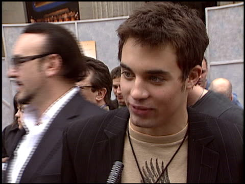 trevor blumas at the 'Ice Princess' Premiere at the El Capitan Theatre in Hollywood California on March 13 2005