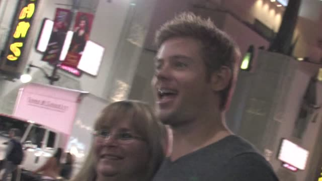 Trevor Donovan greets fans at The Vow after party in Hollywood 02/06/12