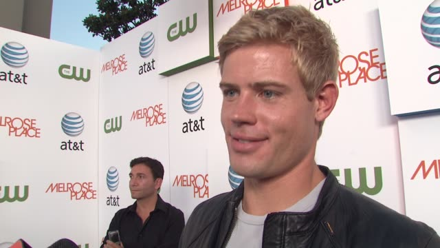 trevor donovan on if he watched 90210 and who was his favorite character on, if he watched melrose place, why he thinks shows like 90210 and melrose... - 肥皂劇 個影片檔及 b 捲影像