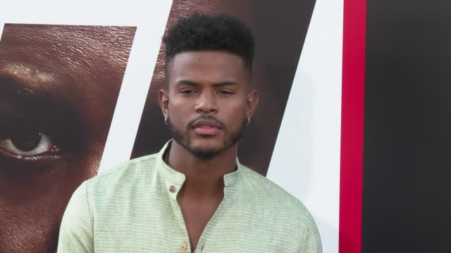 Trevor Jackson at the 'The Equalizer 2' Premiere at TCL Chinese Theatre on July 17 2018 in Hollywood California