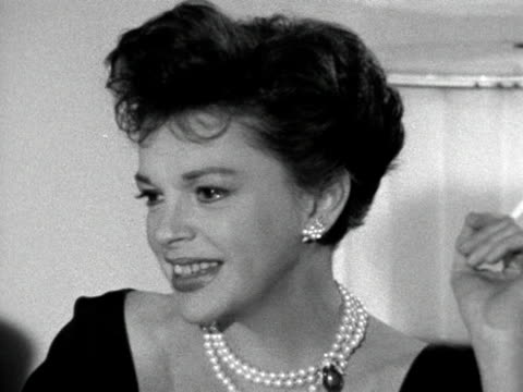 Trevor Lucas interviews Judy Garland after she arrives in London for the premiere of her new film I could go on singing