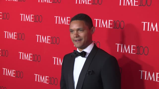 trevor noah at 2017 time 100 gala at jazz at lincoln center on april 25 2017 in new york city - gala stock videos and b-roll footage
