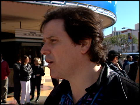 Trevor Rabin at the 'Jack Frost' Premiere at the Bruin Theatre in Westwood California on December 5 1998