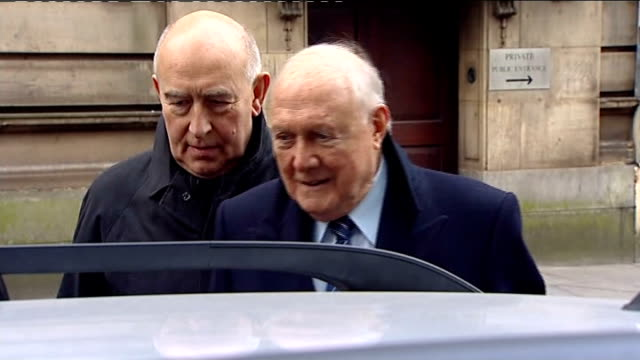 trial date set for broadcaster stuart hall england lancashire preston preston crown court photography** stuart hall from preston crown court... - court hearing stock videos and b-roll footage