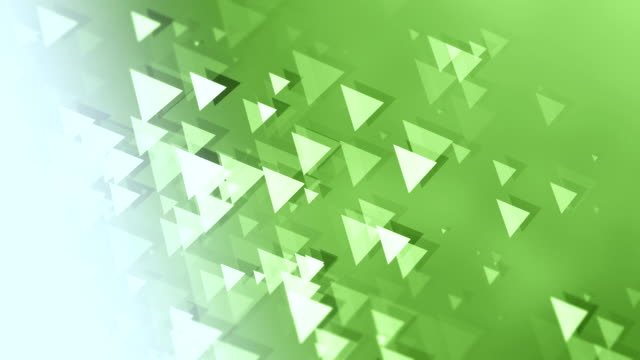 4k triangle background loopable - green background stock videos and b-roll footage