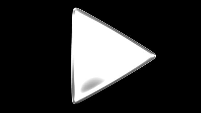 vídeos de stock, filmes e b-roll de triângulo de balcão - triângulo formato bidimensional