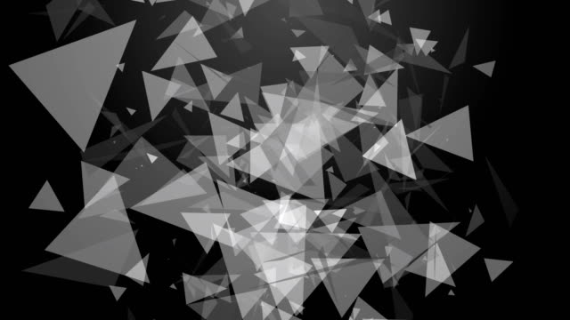 triangle particle animation