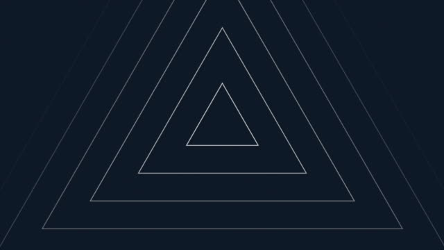 triangle shapes animated background - triangle shape stock videos & royalty-free footage