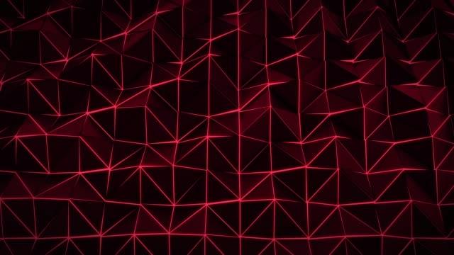 4K Triangles Background