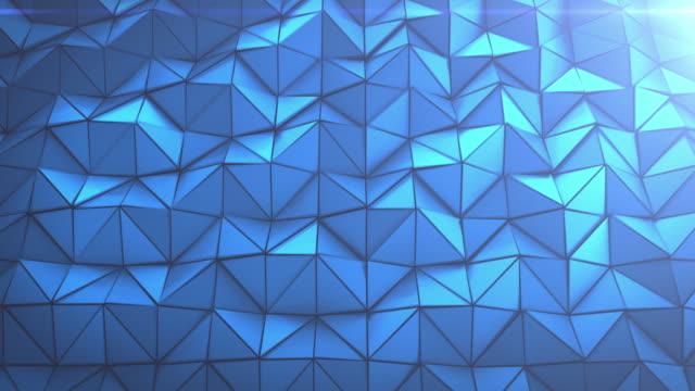 4K driehoeken achtergrond