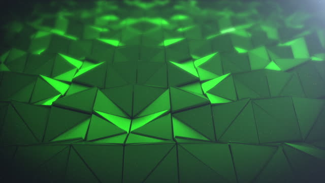 4K Triangles Background