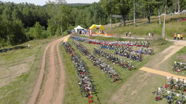 triathlon equipment - medallist stock videos & royalty-free footage