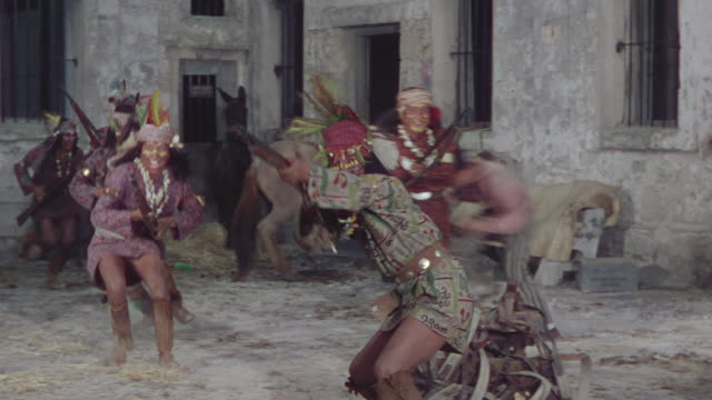 WS PAN tribal attack with gun and start firing