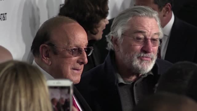 tribeca film festival founder robert de niro held the 2017 opening night on wednesday with the premiere of 'clive davis the soundtrack of our lives a... - founder stock videos and b-roll footage