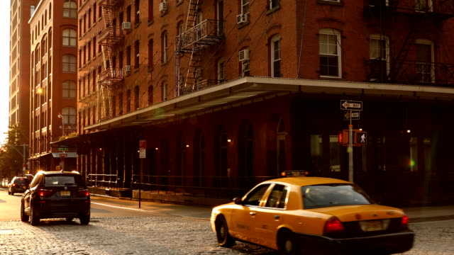 tribeca street scene - tribeca stock videos & royalty-free footage