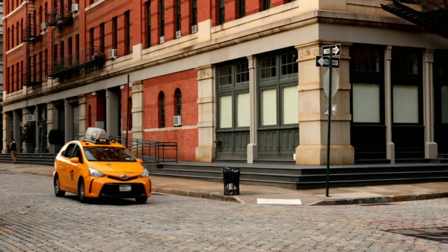 tribeca street - cobblestone stock videos & royalty-free footage
