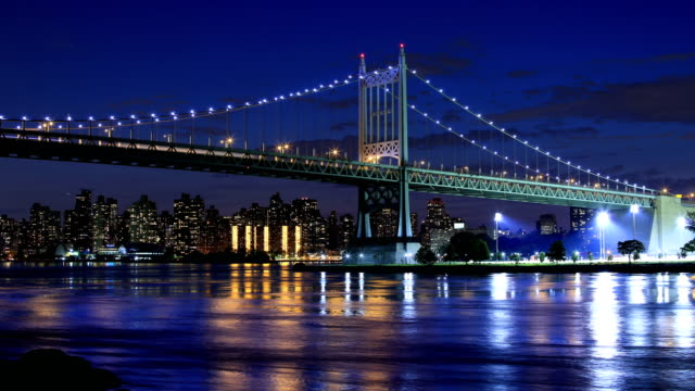 triborough bridge, astoria, new york - queens new york city stock videos and b-roll footage