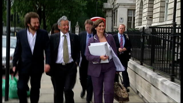 mi6 tribunal over opening of paul rosbaud's file england london victoria embankment audit house ext dr vincent franksteiner along with legal team... - audit stock videos and b-roll footage
