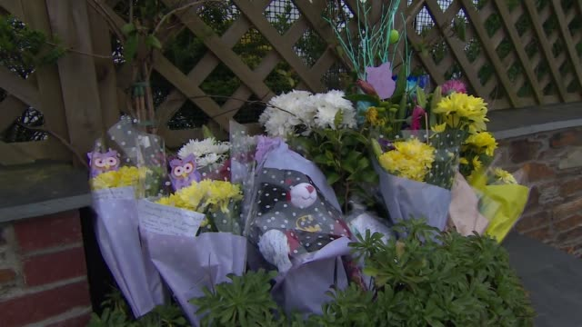 Tributes and messages left for 9year old Frankie Macritchie who was mauled to death by a dog at a caravan park