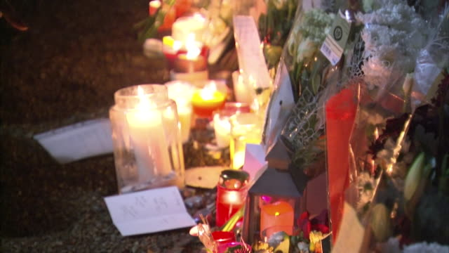 Tributes for George Michael outside his house after the singer passed away on Christmas day