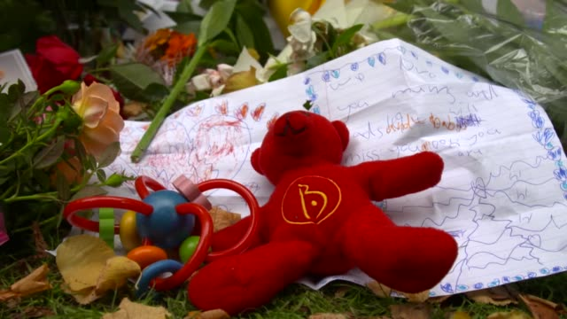 Tributes left near the site of the Christchurch terrorist attack