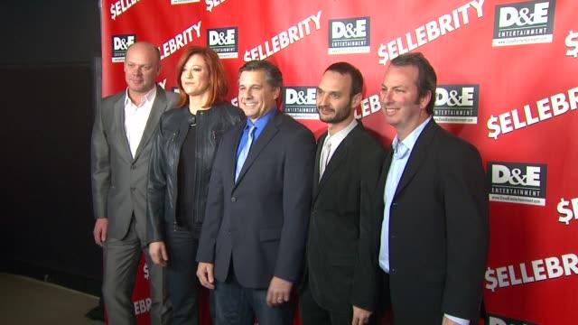 Tricia Nolan Kevin Mazur and Jeff Vespa arrive at $ellebrity Premiere Tricia Nolan Kevin Mazur and Jeff Vespa arrive at at Mann's 6 Theatre on...