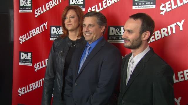 Tricia Nolan Kevin Mazur and Jeff Vespa arrive at the $ellebrity Premiere Tricia Nolan Kevin Mazur and Jeff Vespa arrive at at Mann's 6 Theatre on...