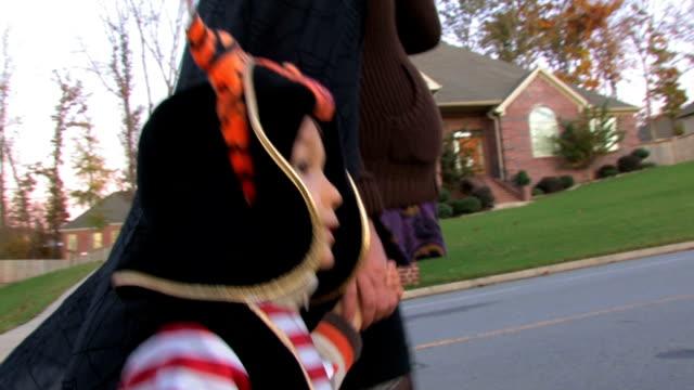 trick-o-treat - hd - halloween stock videos & royalty-free footage