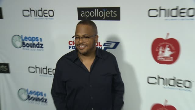Tricky Stewart at The CP3 Foundation's Celebrity Server Dinner Hosted By Chris Paul in Los Angeles CA
