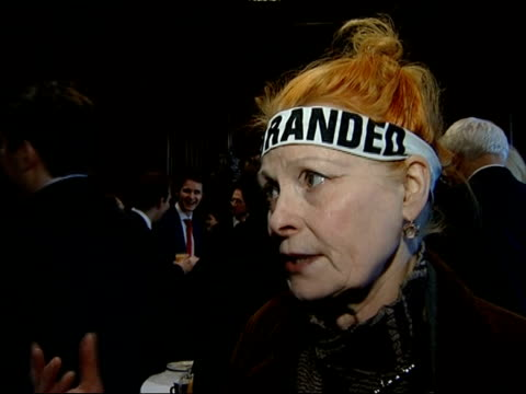 interviews with celebrities opposed to nuclear arms vivienne westwood interview sot on general opposition to nuclear arms / on likely hope of... - westwood stock-videos und b-roll-filmmaterial