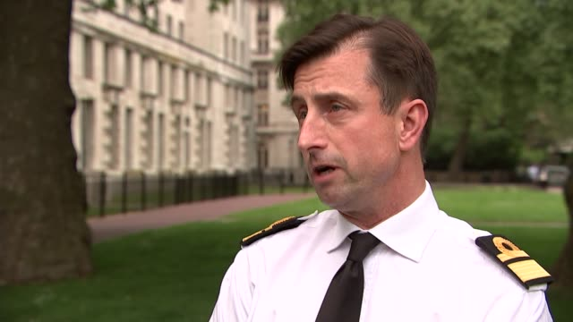 Rear Admiral Matt Parr interview ENGLAND London EXT Rear Admiral Matt Parr interview SOT On safety concerns expressed by William McNeilly