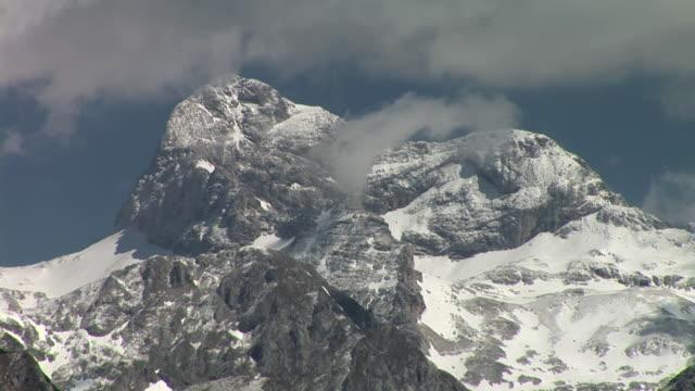 ms, zo, ws, triglav mountain, triglav national park, gorenjska region, slovenia - triglav national park stock videos and b-roll footage