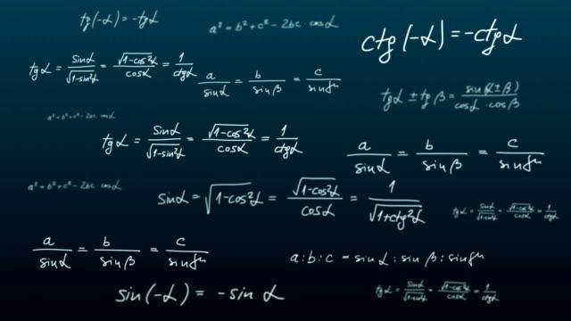 trigonometrie - trigonometrie stock-videos und b-roll-filmmaterial