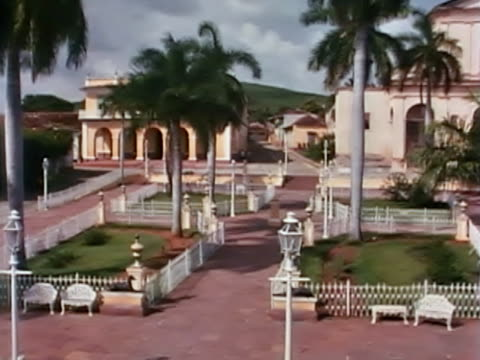 trinidad central square - sancti spiritus province stock videos and b-roll footage
