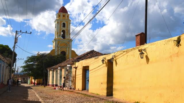 trinidad, cuba: - cobblestone stock videos & royalty-free footage