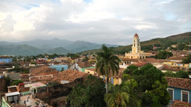 trinidad from above - america del sud video stock e b–roll