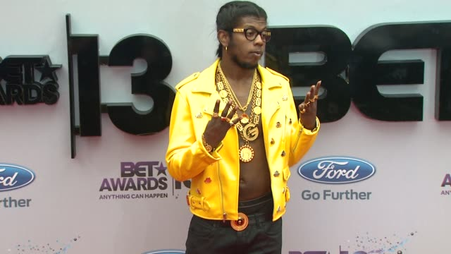 trinidad james at bet 2013 awards - arrivals on 6/30/13 in los angeles, ca . - bet awards bildbanksvideor och videomaterial från bakom kulisserna